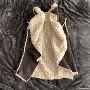 Faux Fur Vest - Medium